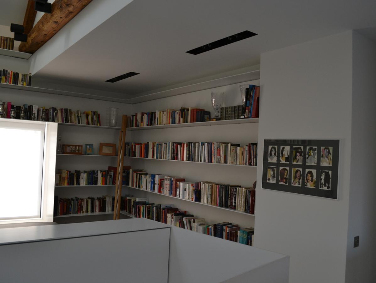 libreria, alluminio